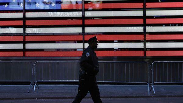 Полицейский США. Архивное фото