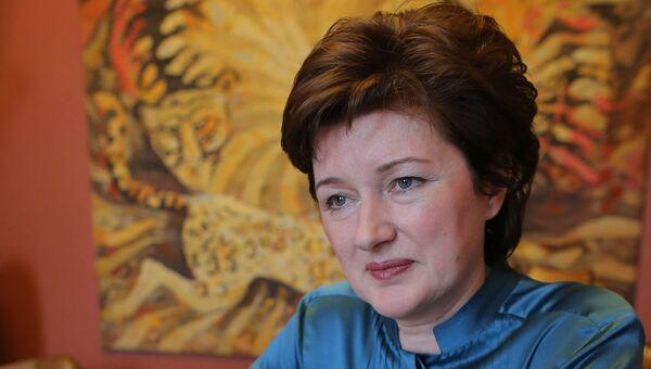 Директор Московского зоопарка Наталья Колобова