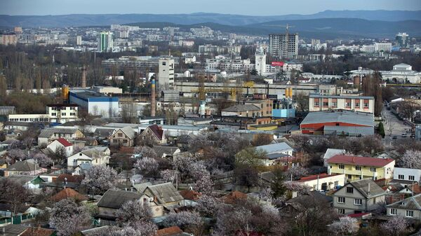 Вид на Симферополь, Крым