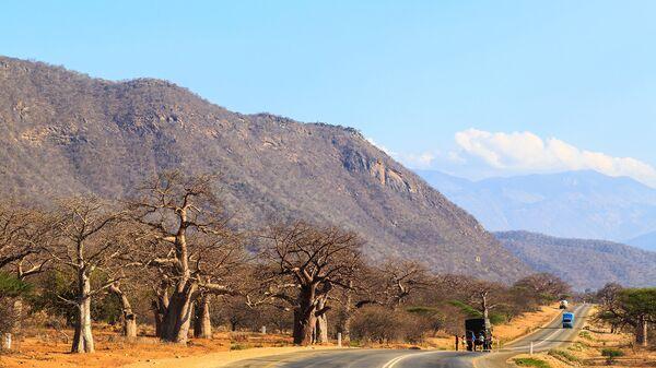 Автодорога в Танзании