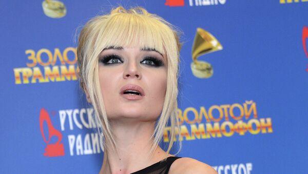 Певица Полина Гагарина, архивное фото