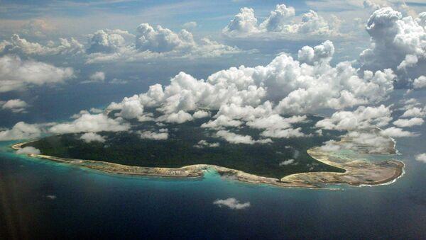 Лес на Северном Сентинельском острове