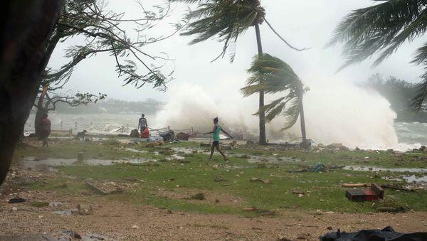 Последствия циклона Пэм, 14 марта 2015 года