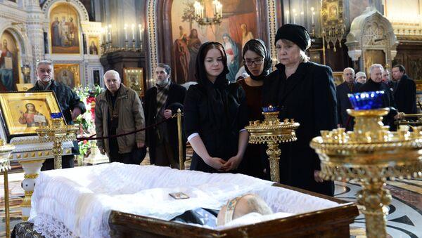 Прощание с писателем Валентином Распутиным
