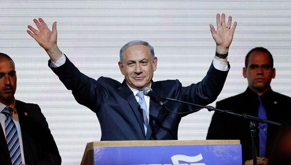 Премьер Израиля Беньямин Нетаньяху