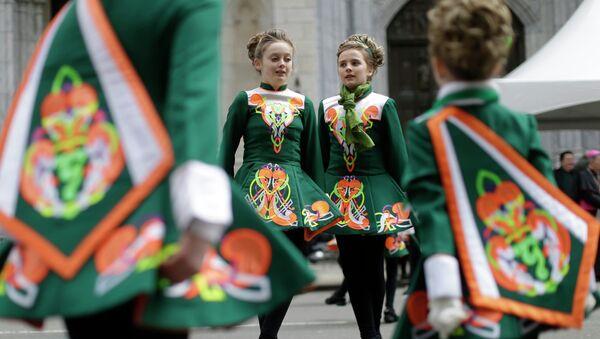 Парад в День святого Патрика в Нью-Йорке. Архивное фото