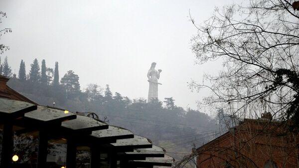 Монумент Мать-Грузия в Тбилиси, Грузия. Архивное фото
