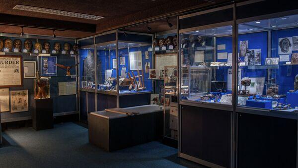 Экспонаты из знаменитого Черного музея Скотленд-Ярда