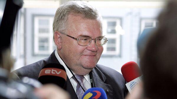 Мэр города Таллина Эдгар Сависаар