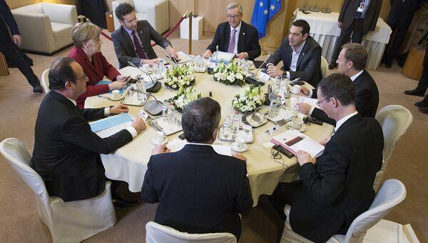 Встреча в рамках саммита ЕС в Брюсселе. Архивное фото