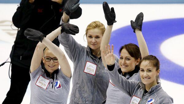 Женская сборная России по керлингу выиграла бронзу чемпионата мира