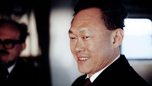 Премьер-министр Сингапура Ли Куан Ю. Архивное фото