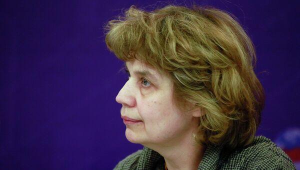 Руководитель Школы Лингвистика факультета гуманитарных наук НИУ ВШЭ, профессор Екатерина Рахилина