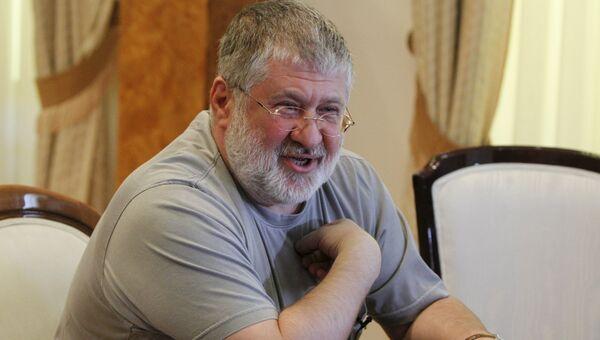 Губернатор Днепропетровской области и предприниматель Игорь Коломойский