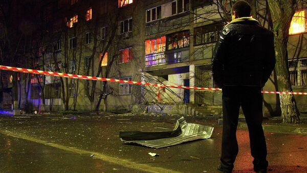 Взрыв в жилом доме Одессы