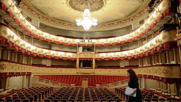 Зрительный зал Основной сцены Малого театра. Архивное фото