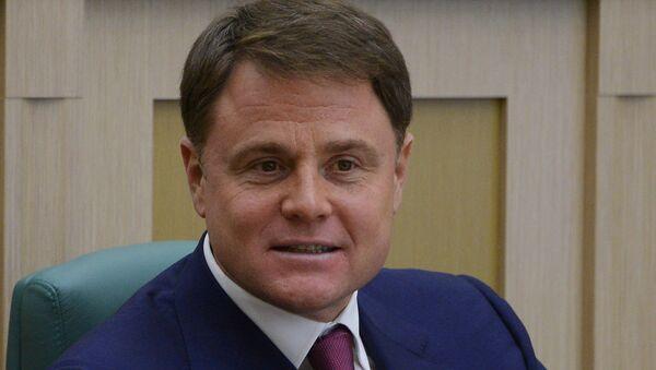 Губернатор Тульской области Владимир Груздев. Архивное фото