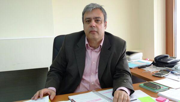 Генеральный секретарь по координации работы правительства Греции Христофорос Вернардакис