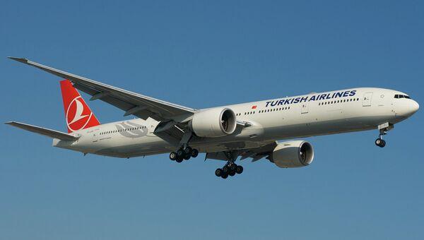 Boeing 777-300ER авиакомпании Turkish Airlines