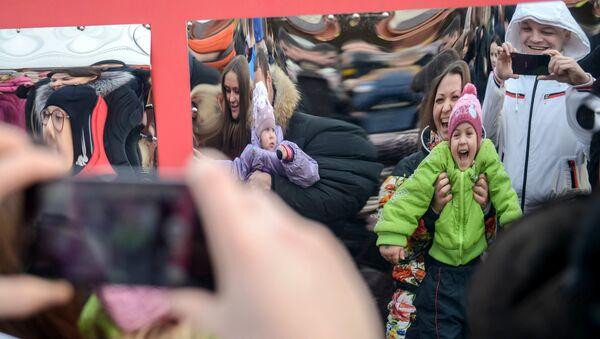 Отдых жителей Москвы. Архивное фото