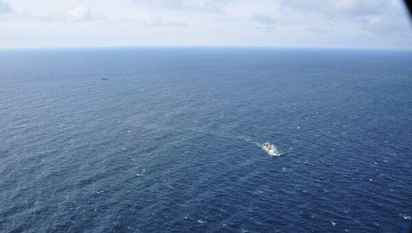 Крушение траулера Дальний Восток в Охотском море