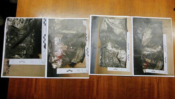 Фотографии второго черного ящика, который был поврежден при крушении самолета  Airbus A320 во Франции