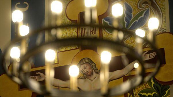 Празднование католической Пасхи в регионах России