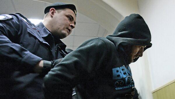 Фигурант дела об убийстве оппозиционного политика Бориса Немцова Хамзат Бахаев. Архивное фото