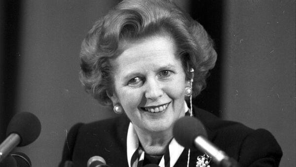 Премьер-министр Великобритании Маргарет Тэтчер. Архивное фото