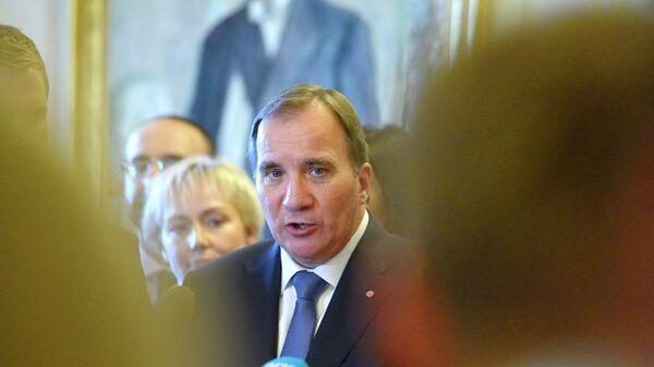 Премьер-министр Швеции Стефан Лёвен. Архивное фото
