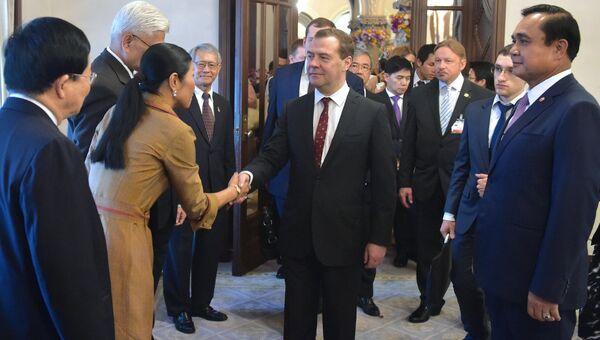 Официальный визит премьер-министра Д.Медведева в Таиланд