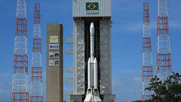 Запуск ракеты с космодрома Алкантара, Бразилия. Архивное фото