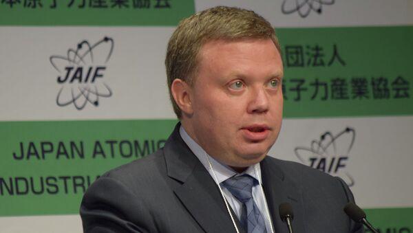 Заместитель гендиректора Росатома Кирилл Комаров. Архивное фото