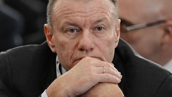 Генеральный директор - председатель правления ГМК Норильский никель Владимир Потанин