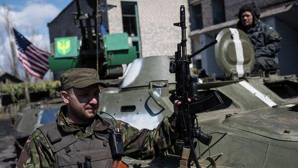 Солдаты ВСУ в Донецкой области. Архивное фото