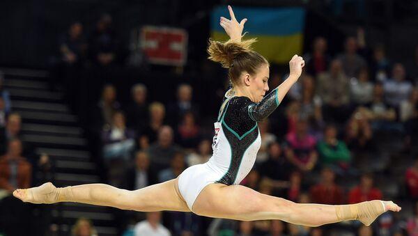 Российская гимнастка Ксения Афанасьева. Архивное фото