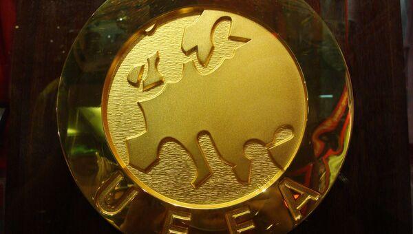 Логотип УЕФА. Архивное фото