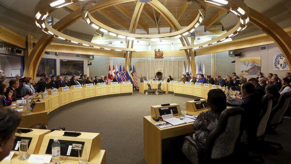 Заседание Арктического Совета в канадском городе Икалуит. Архивное фото