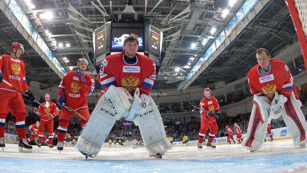 Хоккей. Еврохоккейтур. Матч Россия - Швеция
