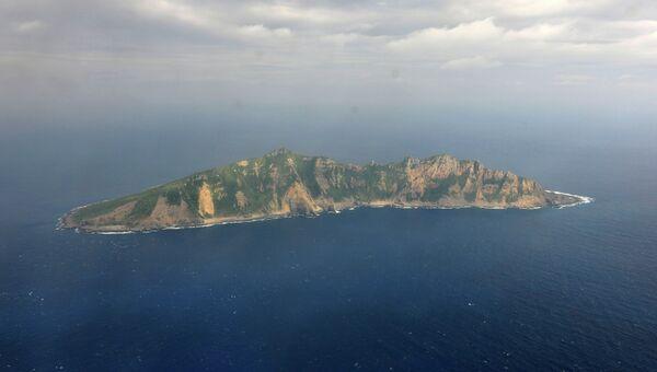 Остров Сенкаку архипелаг в Восточно-Китайском море. Архивное фото