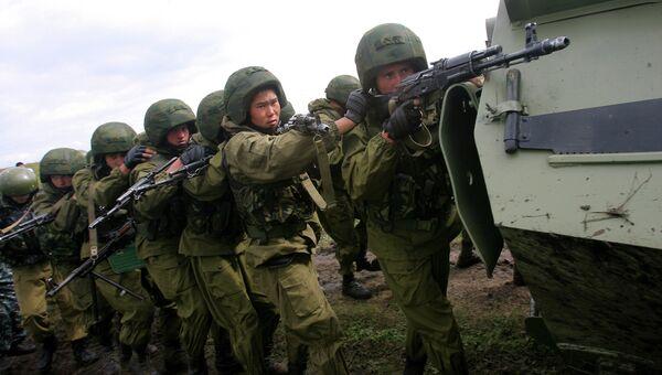 Антитеррористические учения стран-членов ШОС Мирная миссия-2007