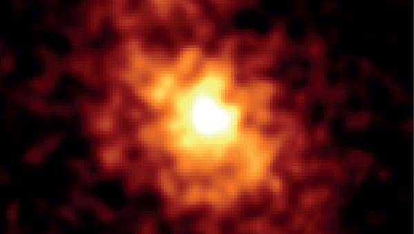 Снимок ядра Галактики в рентгеновском диапазоне, полученный NuSTAR