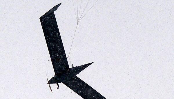Беспилотный летательный аппарат (БПЛА) Орлан-10. Архивное фото