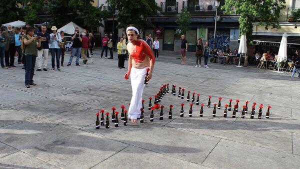 Акция в Мадриде в годовщину трагедии в Одессе