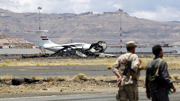 Аэропорт Саны в Йемене