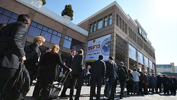 Выставка IDEF-2015 в Стамбуле. Архивное фото