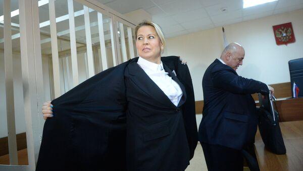 Заседание суда по делу Евгении Васильевой