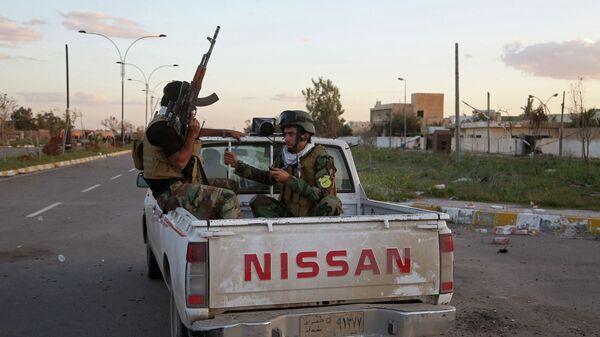 Полицейские в Ираке. Архивное фото