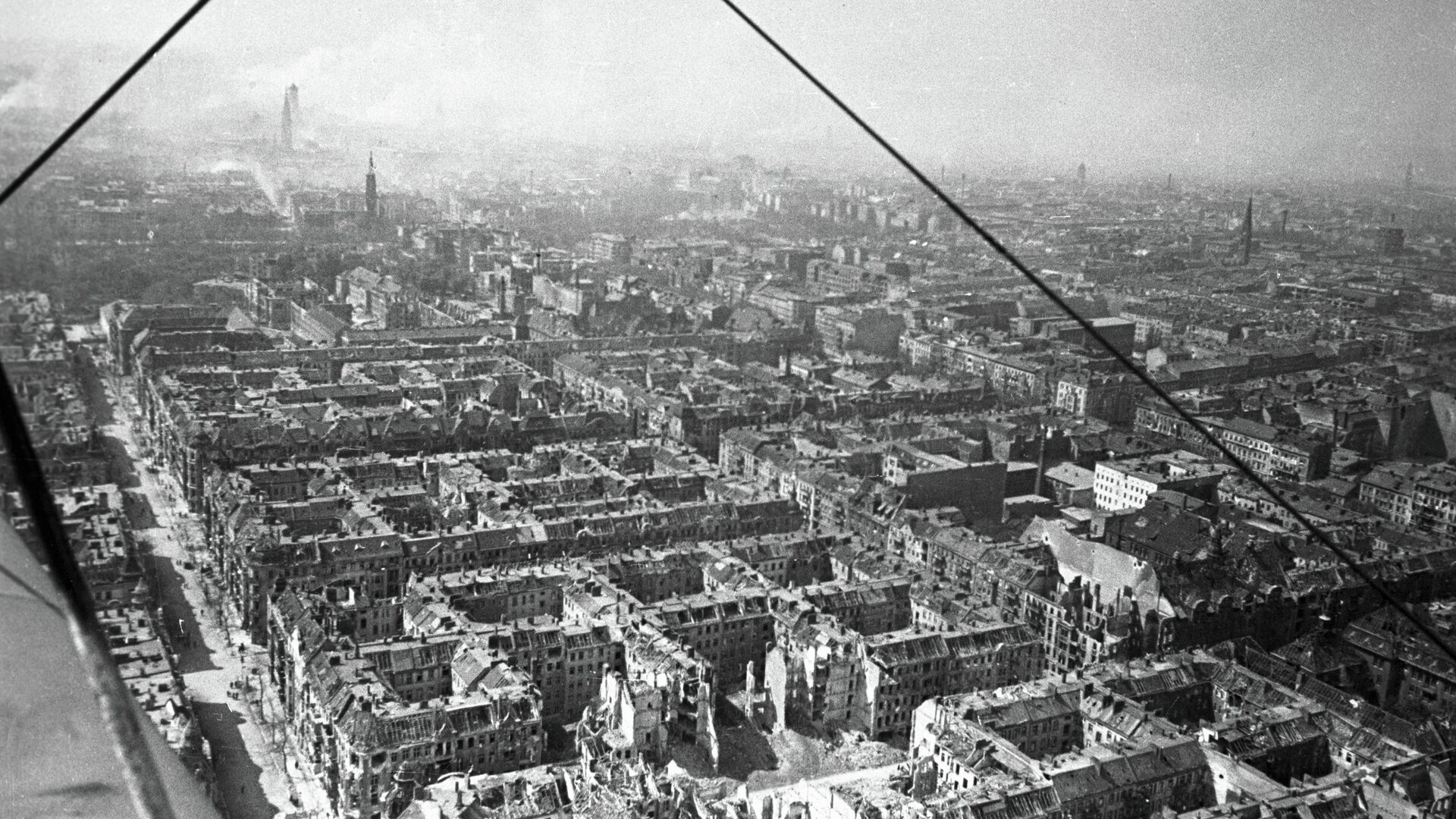 Вид разрушенного Берлина - РИА Новости, 1920, 06.05.2021