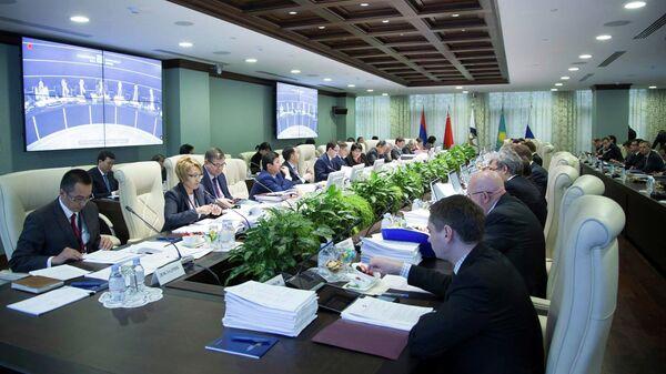 Заседание Совета Евразийской экономической комиссии в Москве. Архивное фото